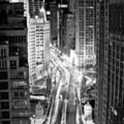 Michigan Avenue Print by George Imrie Photography