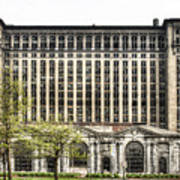 Michigan Central Station Detroit Art Print