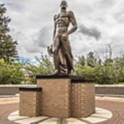 Michigan State - The Spartan Statue Art Print