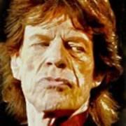 Mick Jagger Art Print