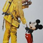 Mickey And The Bravest Art Print