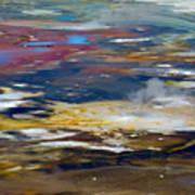 Microbes Paint Too Art Print