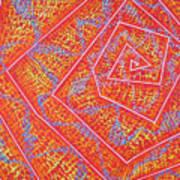 Microcosm Vii Print by Rollin Kocsis