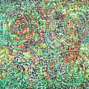 Microcosm Xi Art Print