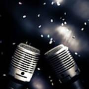 Microphone Club Art Print