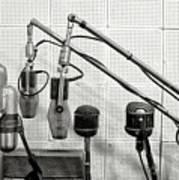 Microphones At Sun Records Art Print