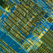Microprocessor Art Print