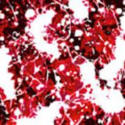 Microscopic Insecticide 4 Art Print