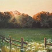 Mid-summer Sunset Art Print
