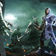 Middle-earth Shadow Of War Art Print