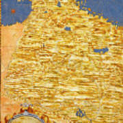 Middle East Georgia, Armenia, Azerbaijan, Iraq, Western Iran Art Print