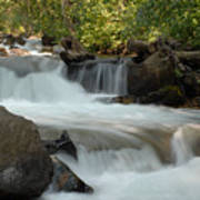 Middle Provo River Cascade Art Print