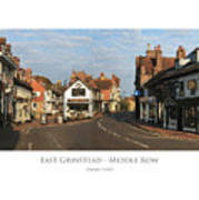 Middle Row East Grinstead Art Print