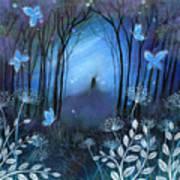 Midnight Art Print by Amanda Clark