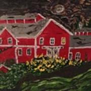 Midnight At Greenbank Farm Art Print