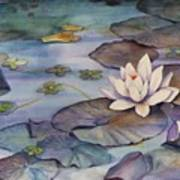 Midnight Lily Art Print