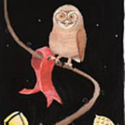 Midnight Owl Art Print