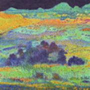 Midnight Prairie Dream Art Print