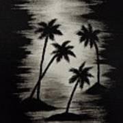 Midnight Sands Art Print