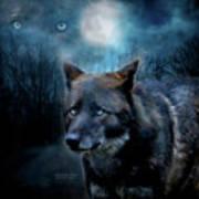 Midnight Spirit Art Print