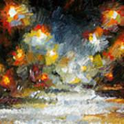 Midnight Storm Art Print