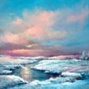Midwest Snowfall Art Print