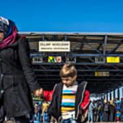 migrants in Nicklesdorf Art Print