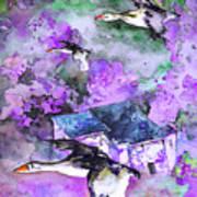 Migration 01 Art Print