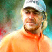 Miguel Angel Jimenez Art Print