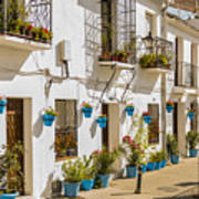 Mijas - Costa Del Sol   Spain Art Print