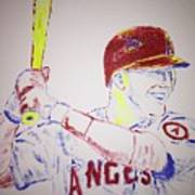 Mike Trout Art Print