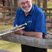 Mike Vax Professional Trumpet Player Photographic Print 3767.02 Art Print