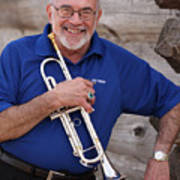 Mike Vax Professional Trumpet Player Photographic Print 3770.02 Art Print