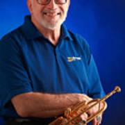 Mike Vax Professional Trumpet Player Photographic Print 3771.02 Art Print