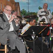 Mike Vax Professional Trumpet Player Photographic Print 3773.02 Art Print