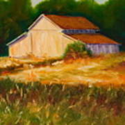 Mike's Barn Art Print