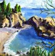 Mikes Beach Art Print