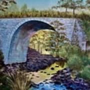 Mike's Keystone Bridge Art Print