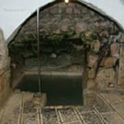 Mikvah - Ritual Pool - Of The Arizal Art Print