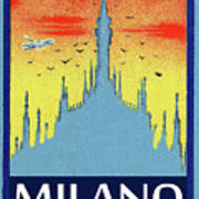 Milan Cathedral, Italy Art Print