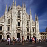 Milan Cathedral Art Print