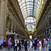 Milan Shopping Mall Art Print
