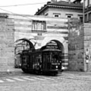 Milan Trolley 5b Art Print