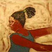 Mildred - Tile Art Print