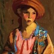 Mildred O Hat Art Print