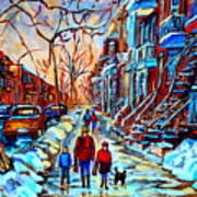 Mile End Montreal Neighborhoods Art Print