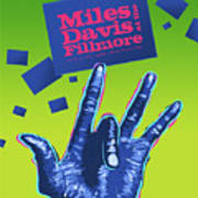 Miles At The Fillmore Art Print