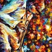 Miles Davis - Gold Trumpet Art Print