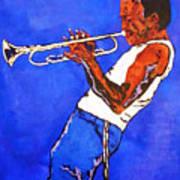 Miles Davis-miles And Miles Away Art Print by Bill Manson