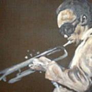 Miles I Art Print